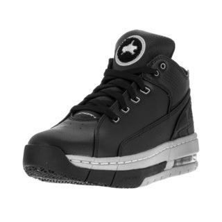 Nike Jordan Men's Jordan Ol'School Low Black/Metallic Silver Black Basketball Shoe