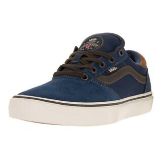 Vans Men's Gilbert Crockett Pro Midnight Navy/Brown Skate Shoe