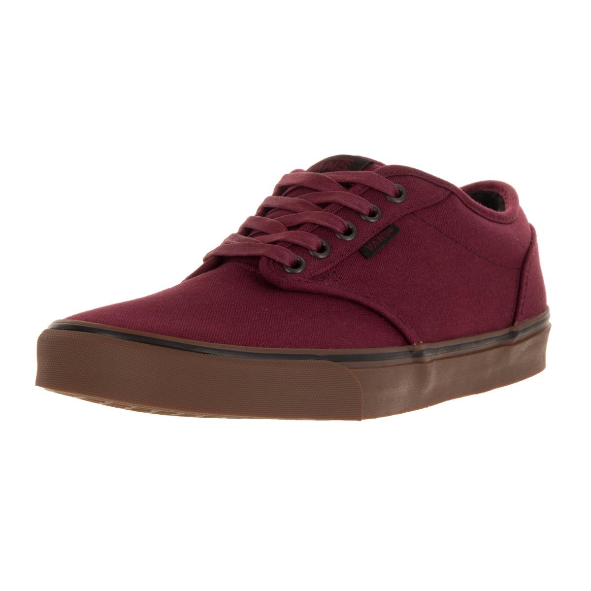 Vans Men's Atwood Red Cordovan Skate Shoe (8) (canvas)
