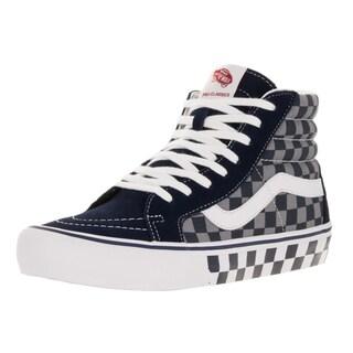 Vans Men's Sk8-Hi Pro (50th) Chckr/Blue/Gry Skate Shoe