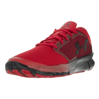 Under Armour Men's UA Charged Reckless Red/Blk/Blk Running Shoe