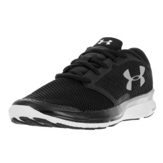 Under Armour Men's UA Charged Reckless Black Textile Running Shoes
