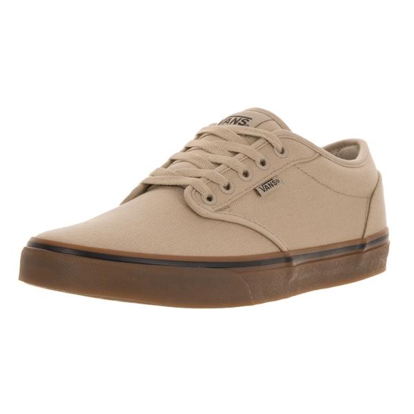 3e5d51c65b0d3 Shop Vans Men s Atwood Canvas Khaki Gum Skate Shoe - Free Shipping ...