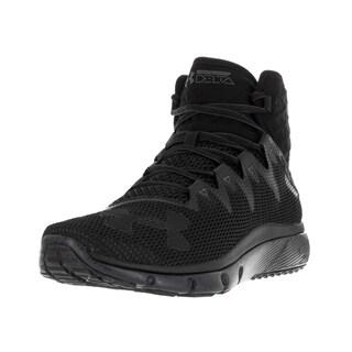 Under Armour Men's UA Highlight Delta Blk/Sty/Blk Running Shoe