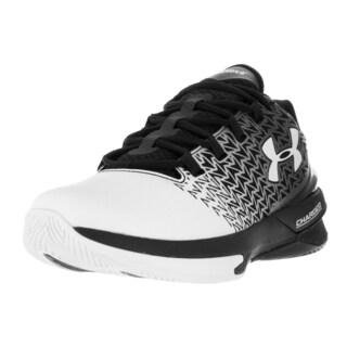 Under Armour Men's Clutchfit Drive 3 Low Blk/Wht/Wht Basketball Shoe
