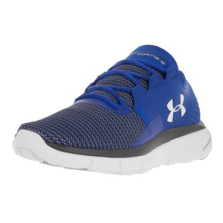 Under Armour Men's UA Speedform Fortis 2 Ubl/Wht/Glg Running Shoe