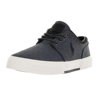 Polo Ralph Lauren Men's Faxon Low Sk Slate Casual Shoe