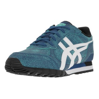 Onitsuka Tiger Unisex Colorado Eighty-five Monaco Blue, White Leather Casual Shoe
