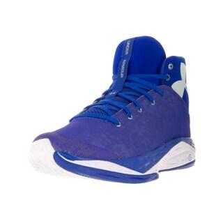 Under Armour Men's Fire Shot Blue Fabric Basketball Shoe