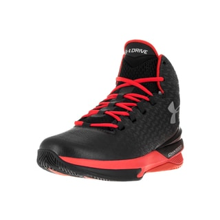 Under Armour Men's Clutchfit Drive Black Fabric Basketball Shoe