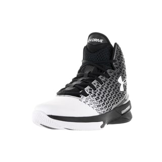 Under Armour Men's Clutchfit Drive 3 Black/White/White Basketball Shoe