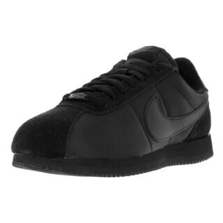 Nike Men's Cortez Basic QS 1972 Black Anthracite Nylon Casual Shoes