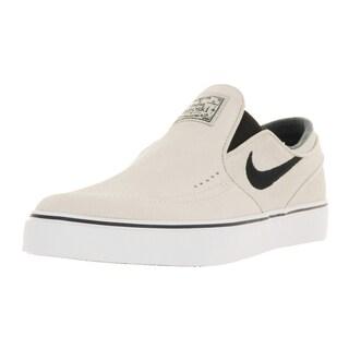 Nike Men's Zoom Stefan Janoski Off-white Suede Skate Shoe