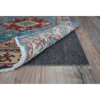 CushGrip 1/8-inch Thick Non-Slip Cushioned Felt & Rubber Rug Pad (4' Round) - 5'/8'/3'