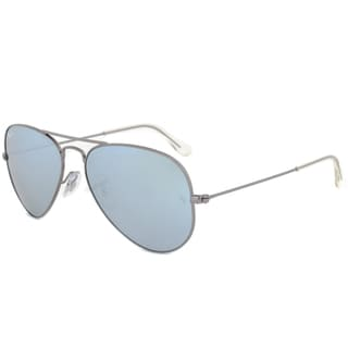Ray-Ban RB3025 02930 Gunmetal Frame Crystal Silver Blue Lens Unisex Sunglasses