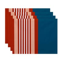 'Beach Shack' Stripe Print Placemats (Set of 4)