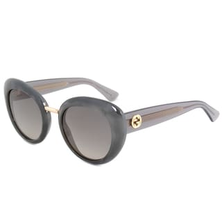 gucci gg 3808s r4idx marble grey frame grey gradient lens womens sunglasses