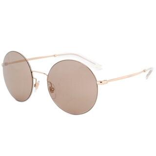 Gucci GG 4273S J5GXS Gold Frame Brown Lens Unisex Sunglasses