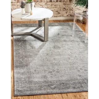Light Grey Polypropylene La Jolla Rug (3'2 x 5'2)