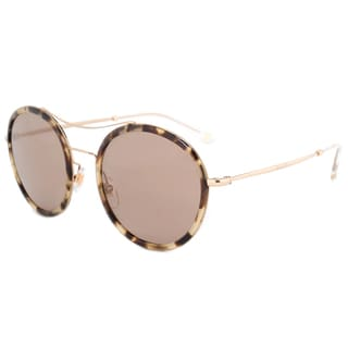 Gucci GG 4252NS H7UXS Havana/Gold Frame Brown Lens Unisex Sunglasses