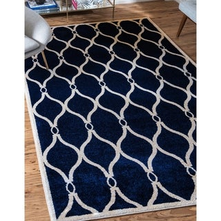 Unique Loom Seattle Trellis Area Rug
