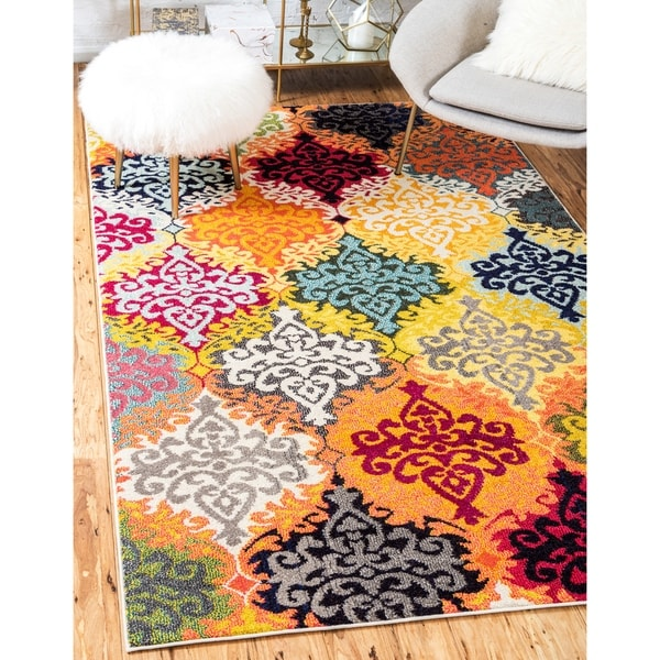 Unique Loom Roswell Barcelona Area Rug - 9' x 12'