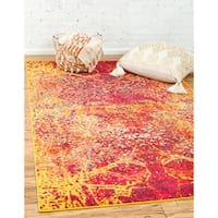 Unique Loom Pavilion Barcelona Area Rug - 9' x 12'