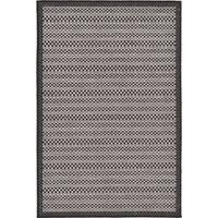 Unique Loom Checkered Outdoor Area Rug - 3' 3 x 5'