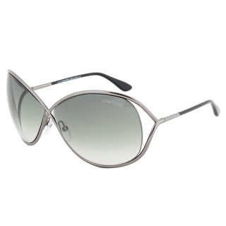 Tom Ford Miranda FT0130 08B Gunmetal Frame Dark Grey Gradient Lens Women's Sunglasses