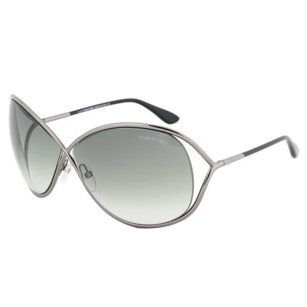 TOMS Franco Noir Brillant Sunglasses with Dark Grey Lens Np2oJChuPr