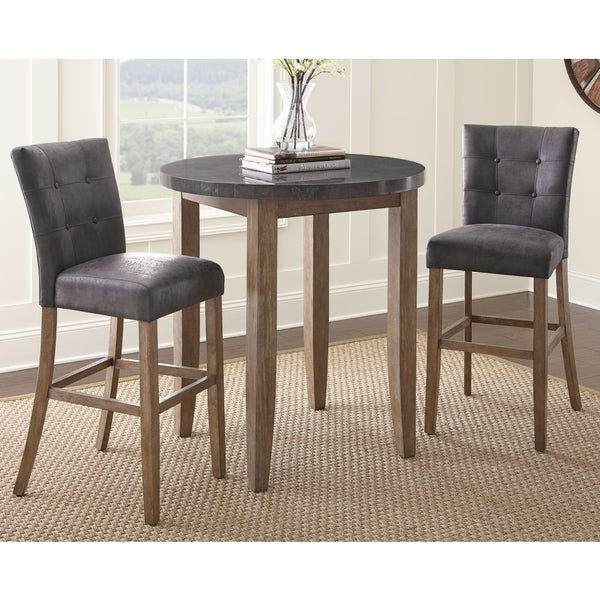 Shop The Gray Barn Overlook 3 Piece Pub Table Set On Sale Free