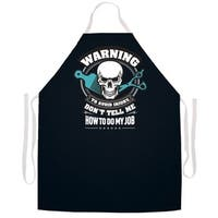 'Warning�How to Do My Job' Hair Stylist's Apron