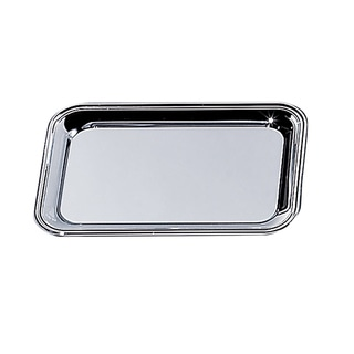 Elegance Nickel Plated Rectangular Cash Tray 6x9""