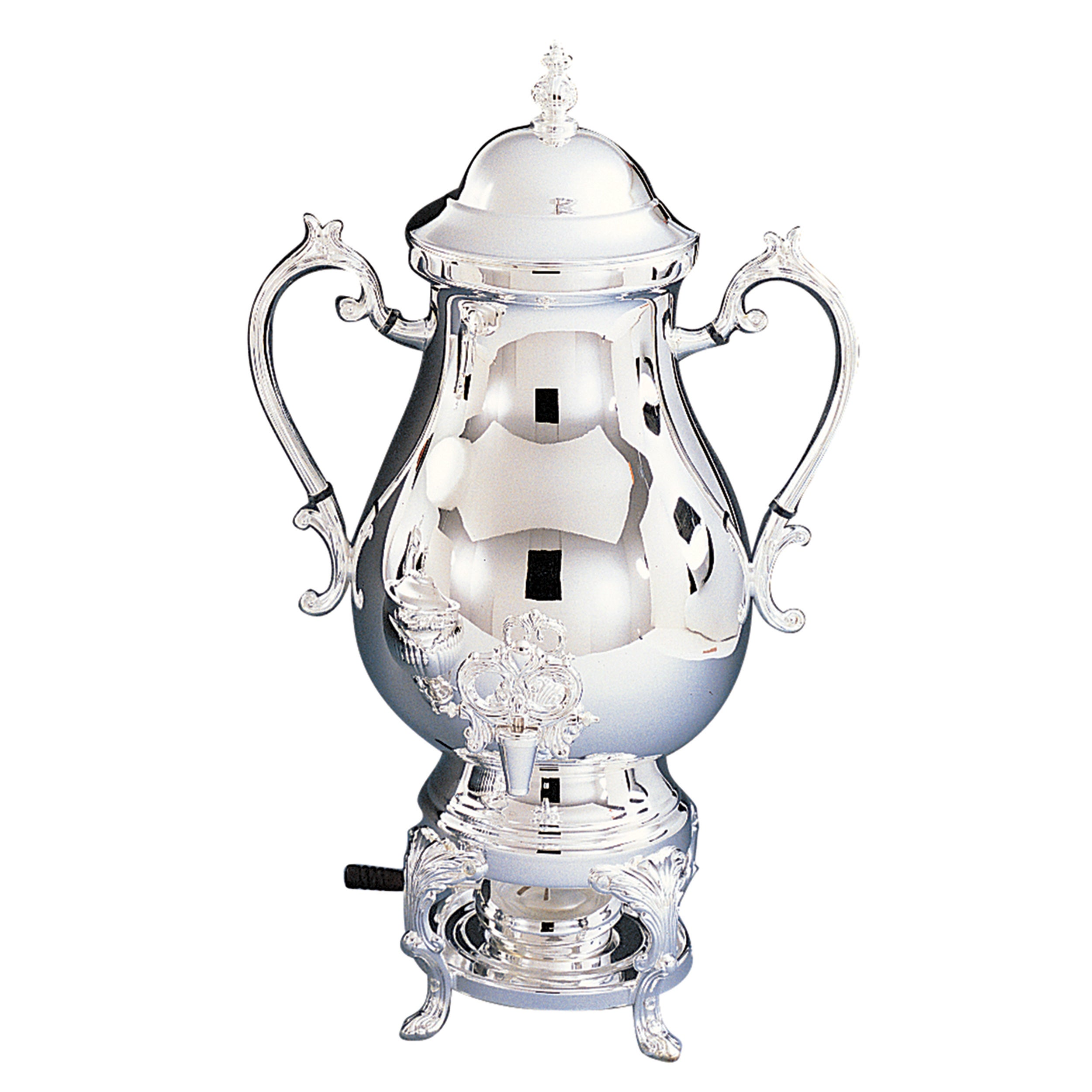 Heim Concept 25 Cup Coffee Urn 118 Oz Silver Plated Overstock 13399941