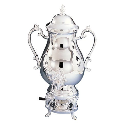 Heim Concept 25 Cup Coffee Urn - 118 oz., Silver Plated