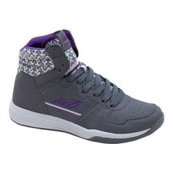 Women's Avia ALC Diva High Top Iron Grey/Cool Mist Gret/Plumaria