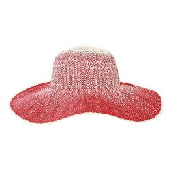 Women's San Diego Hat Company Ombre Floppy Hat PBL3081 Red