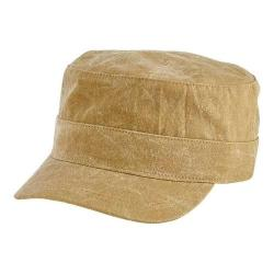 San Diego Hat Company Textured Cotton Military Cap CTH8061 Olive