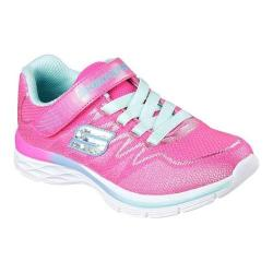 Girls' Skechers Dream N Dash Whimsy Girl Sneaker Neon Pink/Aqua