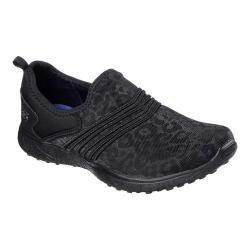 Women's Skechers Microburst Under Wraps Walking Sneaker Black