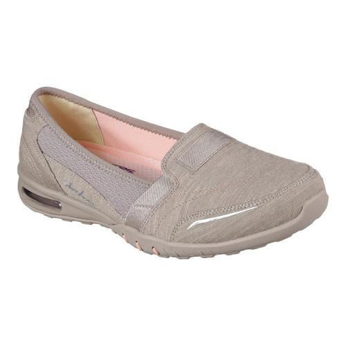 Women's Skechers Relaxed Fit Easy Air Gold Mine Loafer Taupe