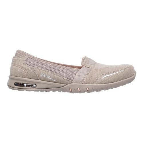 Women's Skechers Relaxed Fit Easy Air Gold Mine Loafer Taupe - Thumbnail 1