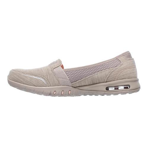 Women's Skechers Relaxed Fit Easy Air Gold Mine Loafer Taupe - Thumbnail 2