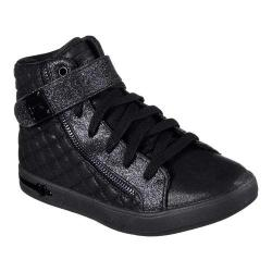 Girls' Skechers Shoutouts Quilted Crush High Top Black