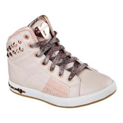 Girls' Skechers Shoutouts Stud Chic High Top Pink