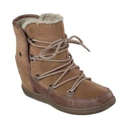 Women's Skechers SKCH Plus 3 Trois Boot Light Brown