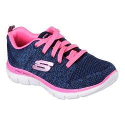 Girls' Skechers Skech Appeal 2.0 High Energy Trainer Navy/Hot Pink