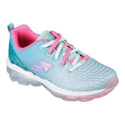 Girls' Skechers Skech-Air Deluxe Trainer Aqua/Pink
