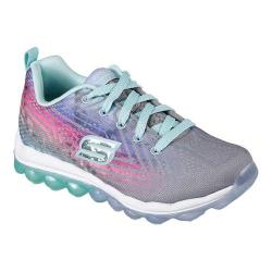 Girls' Skechers Skech-Air Jumparound Trainer Gray/Mint