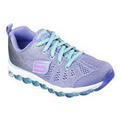Girls' Skechers Skech-Air Ultra Glitterbeam Sneaker Periwinkle